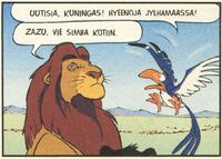 Zazu-comics