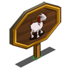 Red Goat Mastery Sign-icon
