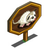 White Opossum Mastery Sign-icon