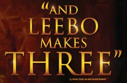 And Leebo Makes Three