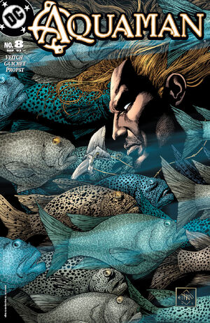 Cover for Aquaman #8