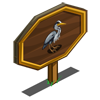 Grey Heron Mastery Sign-icon