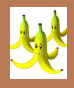 Triple banana