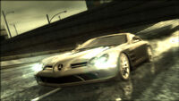 Mercedes slr nfs most wanted