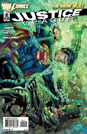 Cover for Justice League #2