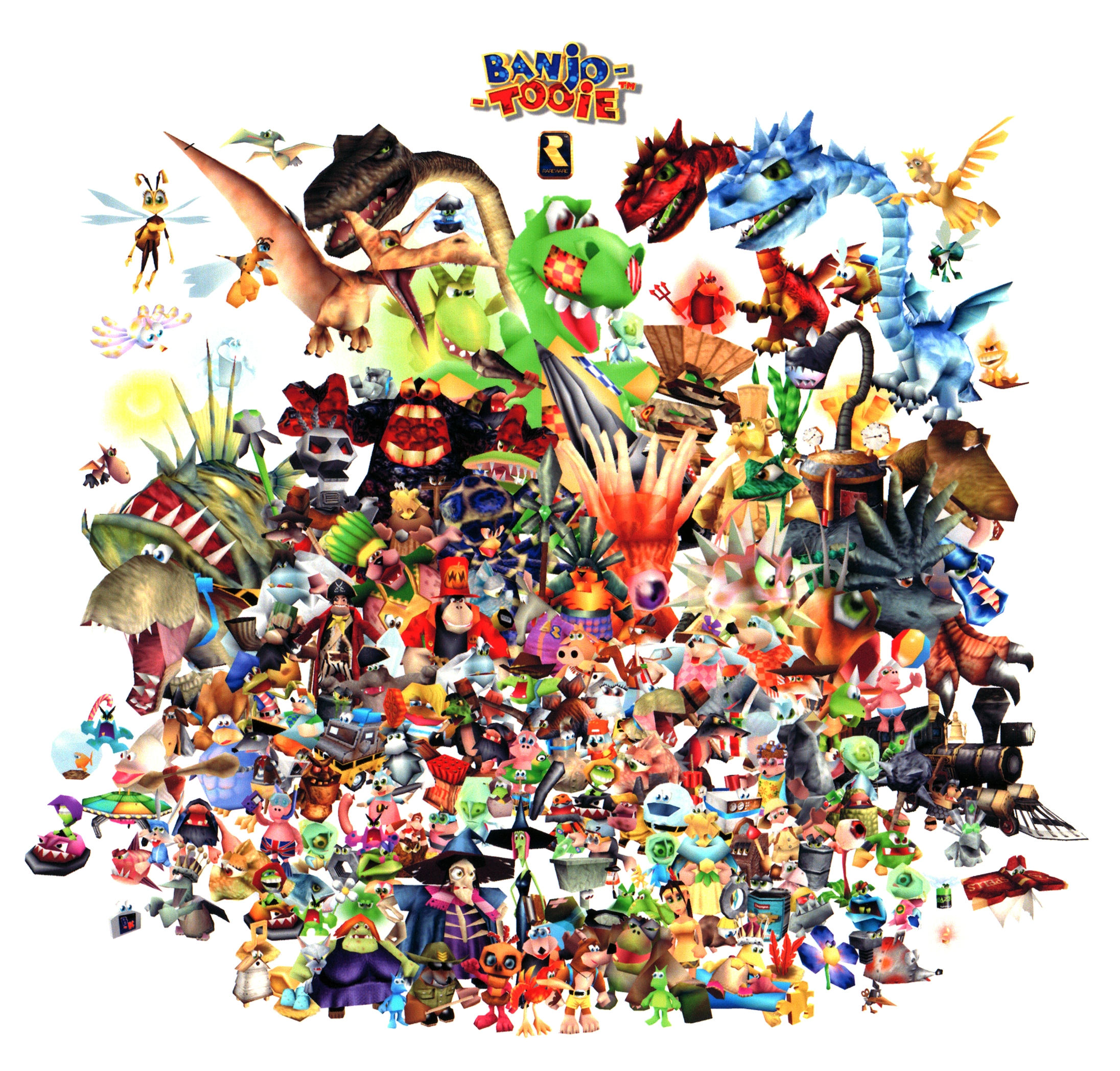 Banjo-Tooie - The Banjo-Kazooie Wiki - Banjo-Kazooie, Nuts and Bolts