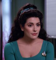 Deanna Troi, casual attire