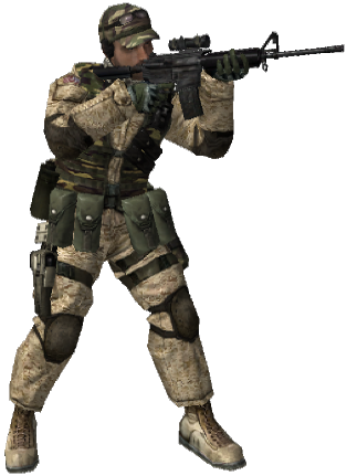 Image Bf2 M4 Soldier Png Battlefield Wiki