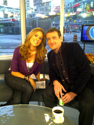 Jason Segel on BT Toronto
