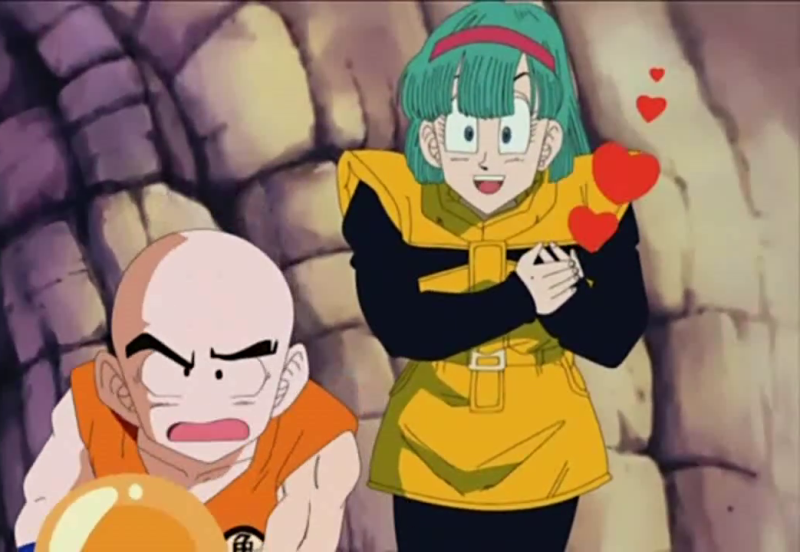 bulma and vegeta meet