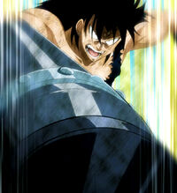 Gajeel fighting spirit