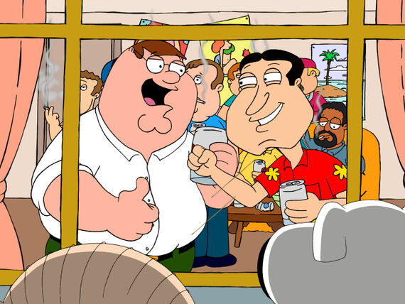 Family Guy Season 10 Episode 5 Back to the Pilot