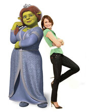 Cameron diaz voices princess fiona in dreamworks shrek the third