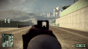 BFBC2 AN-94 IronSight