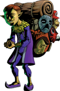 Happy Mask Salesman Artwork (Majora&#39;s Mask)