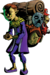 Happy Mask Salesman Artwork (Majora's Mask)