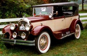 1926 Chrysler Imperial Touring