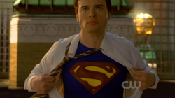 Smallville finale clark superman