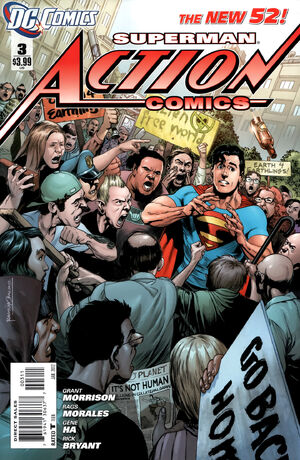 Cover for Action Comics #3