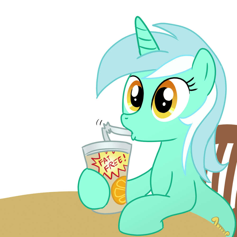 Lyra Sitting Vector Lyra - My Littl...