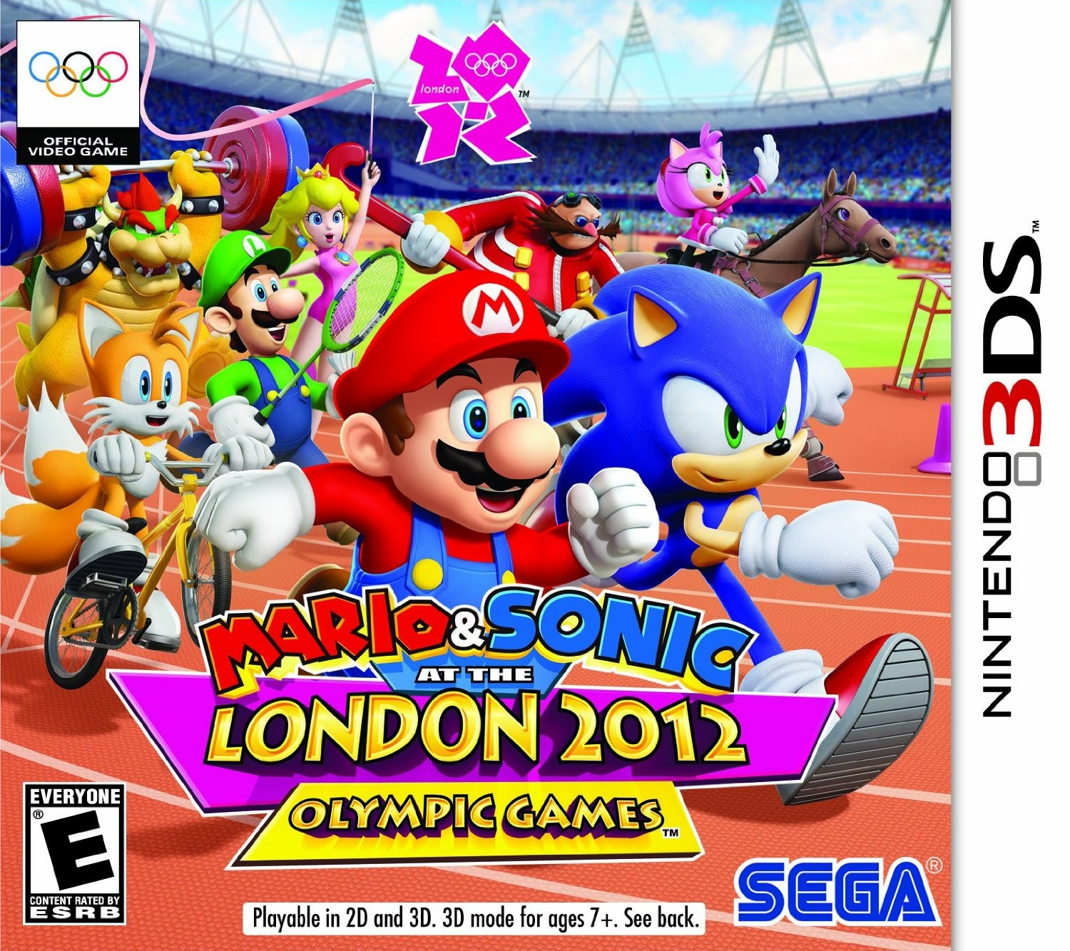 Mario sonic at the london 2012 olympic games sonic - Jeux de sonic vs shadow ...