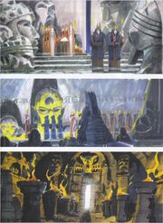 Hall of Ancient Thought paintings