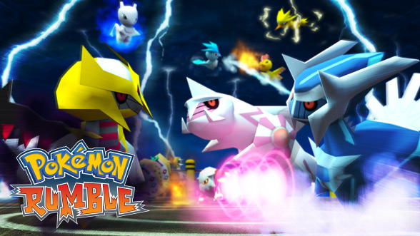 Carátula Pokémon Rumble