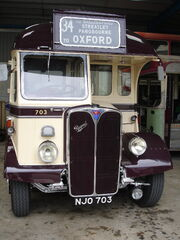 Vintage Oxford bus