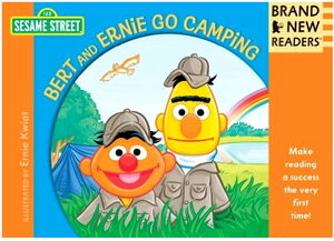Bert and ernie go camping