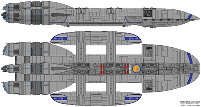 Battlestar Leonidas - Spartan Class