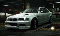 NFS World BMW M3 GTR