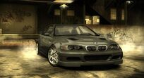 NFS Most Wanted BMW M3 GTR Street