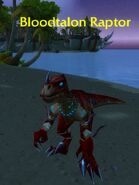 (Echo Isles) Bloodtalon Raptor