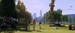 GTA V GOLF PAR 3