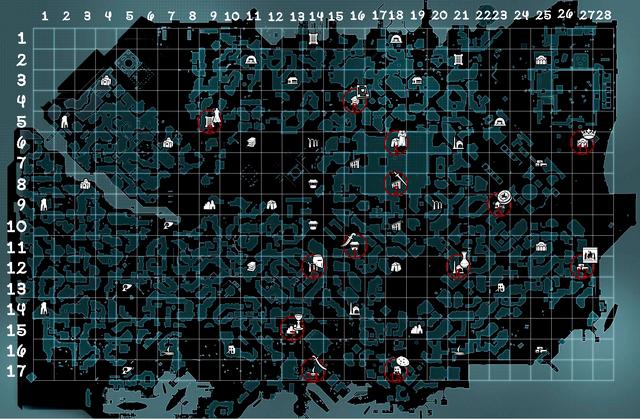 Карта Мемуаров Исхак Паши