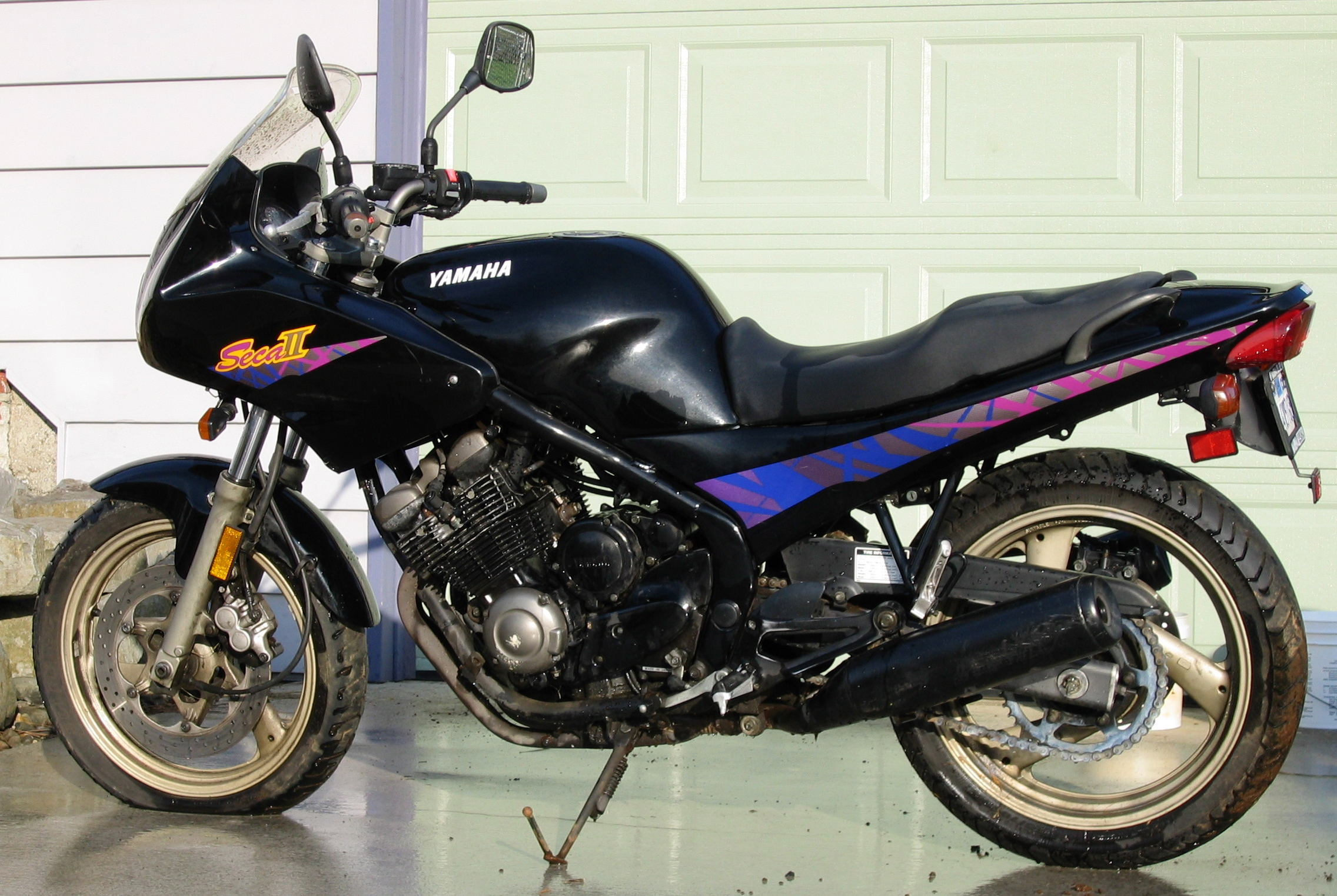 Yamaha Tzm Modified