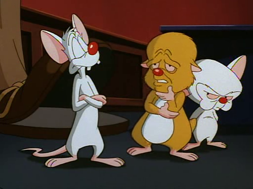 Fun Facts About Pinky And The Brain: For James: April 2012