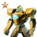Item life-sizerobot bronze 01
