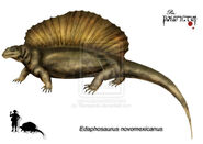 Edaphosaurus novomexicanus by Theropsida