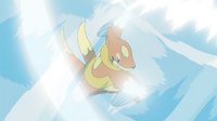 EP643 floatzel de kenny usando viento cortante