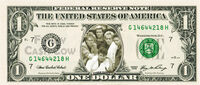 United states of america dollar bill note duran duran