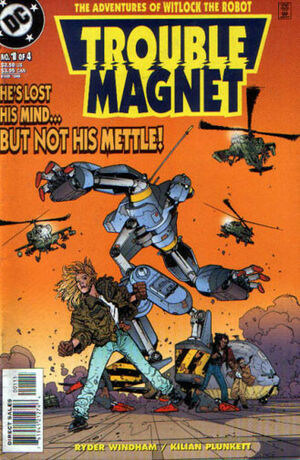 Cover for Trouble Magnet #1