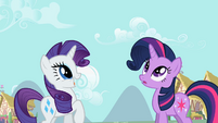 Rarity happy S2E6