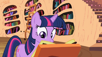 Twilight keeps reading about the cutie pox S2E06