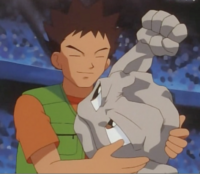 Brock and Geodude