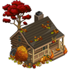 Fall Log Cabin-icon
