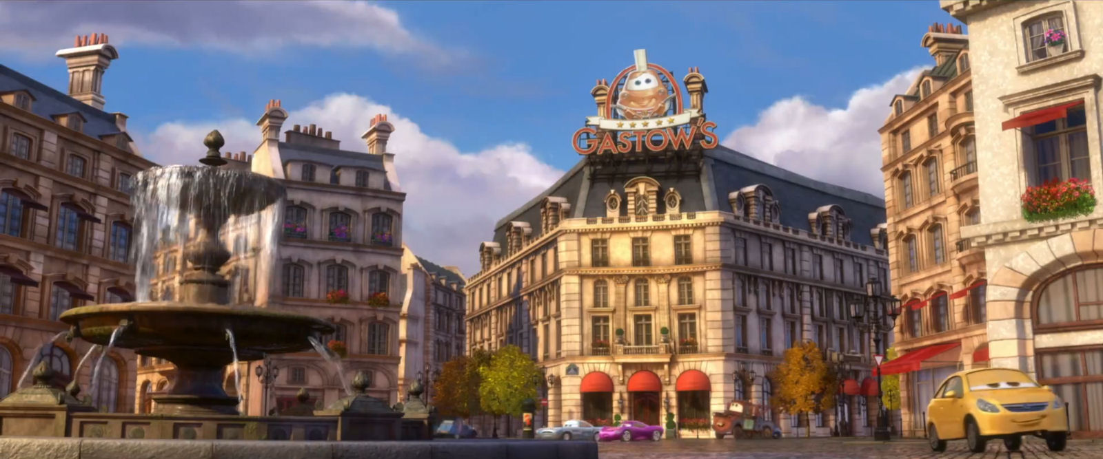 Gusteau s - Pixar Wiki - Disney Pixar Animation StudiosGusteau Ratatouille