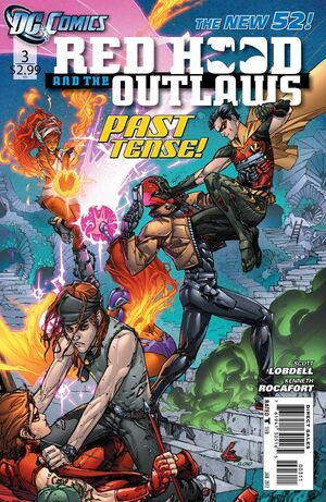 Cover for Red Hood and the Outlaws #3