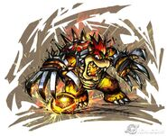 Bowser SM Strikers