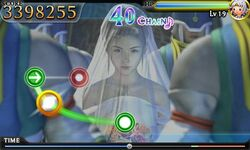 Yuna wedding theatrythym final fantasy